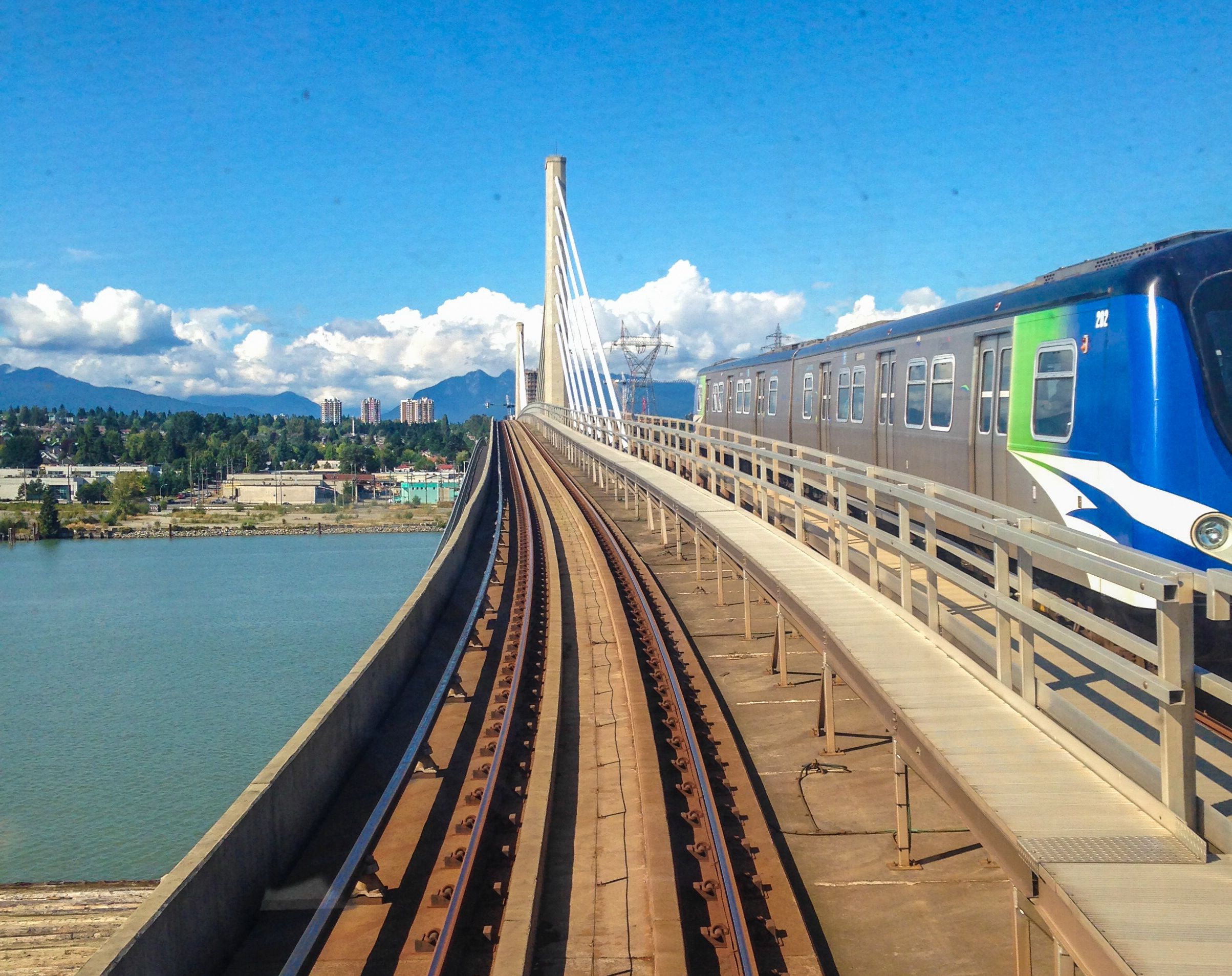 Explore Vancouver Bc On The Canada Line Skytrain