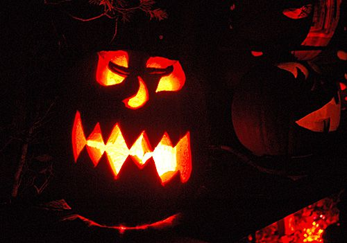 Jack-O-Lantern Spectacular is Not Your Neighborhood Halloween Display - Grinning Pumpkin Faces Photo