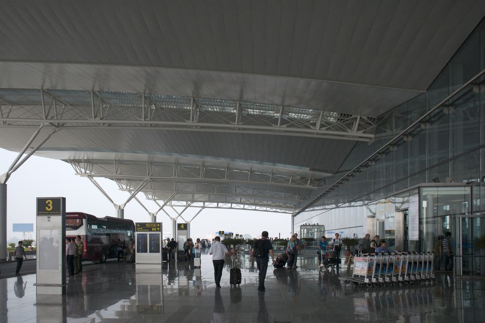 Noi Bai Airport Departure Area