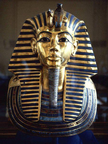 Mascara Tutankamón