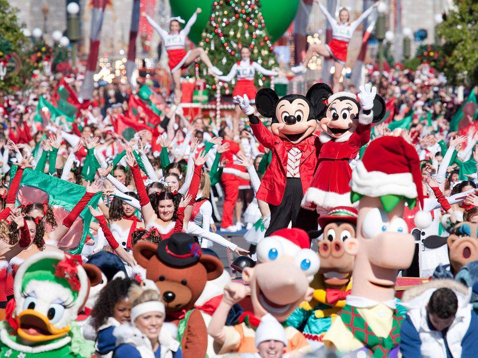 Mickey's Very Merry Christmas Party at Disney World - 2017