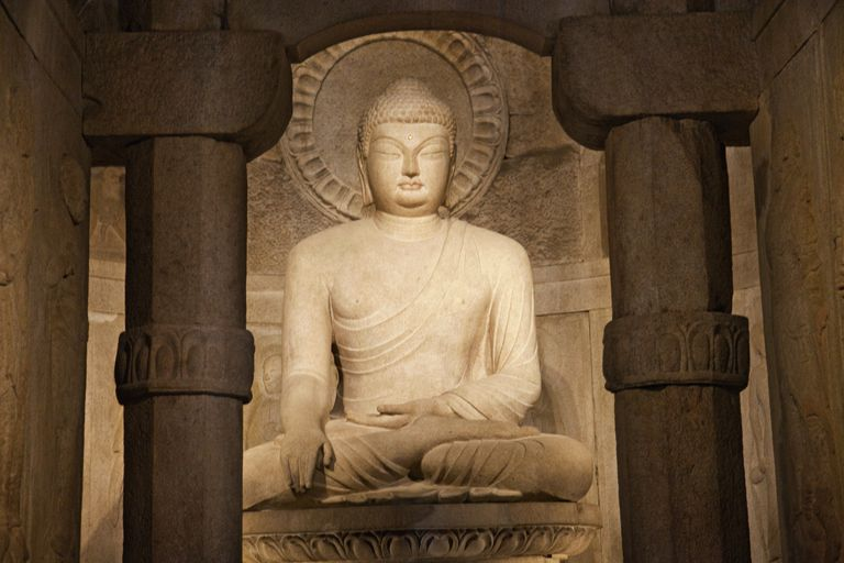 Sakyamuni Buddha Image at Seokguram