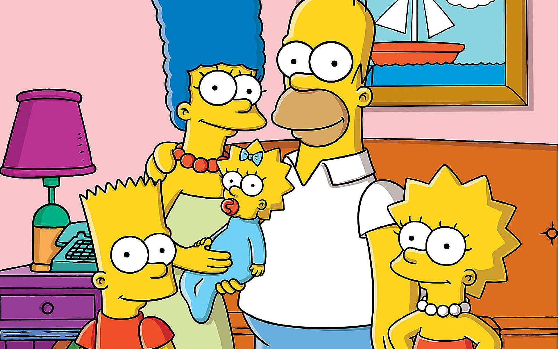 How old is homer marge bart lisa maggie simpson - Marge simpson et bart ...