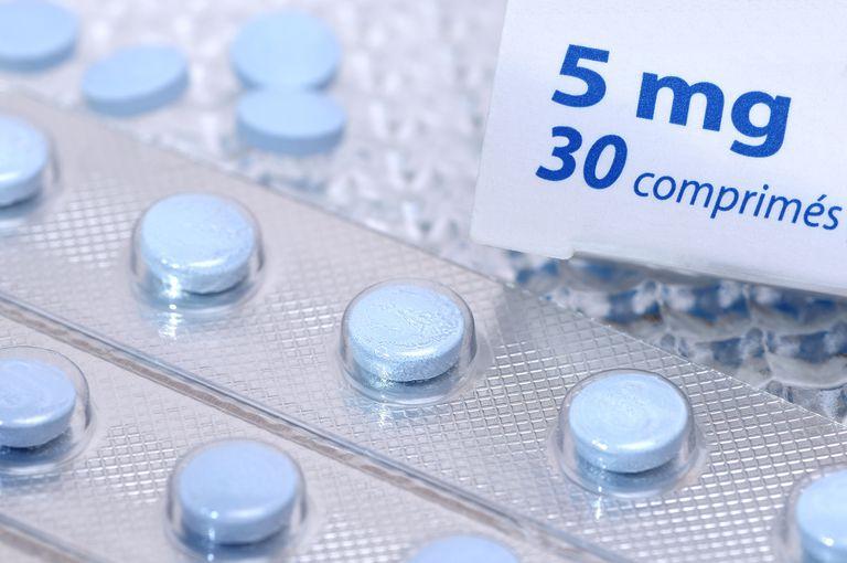 Antihistamines in blister pack