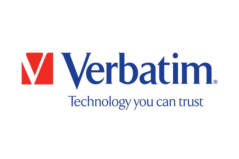 Screenshot of the Verbatim logo