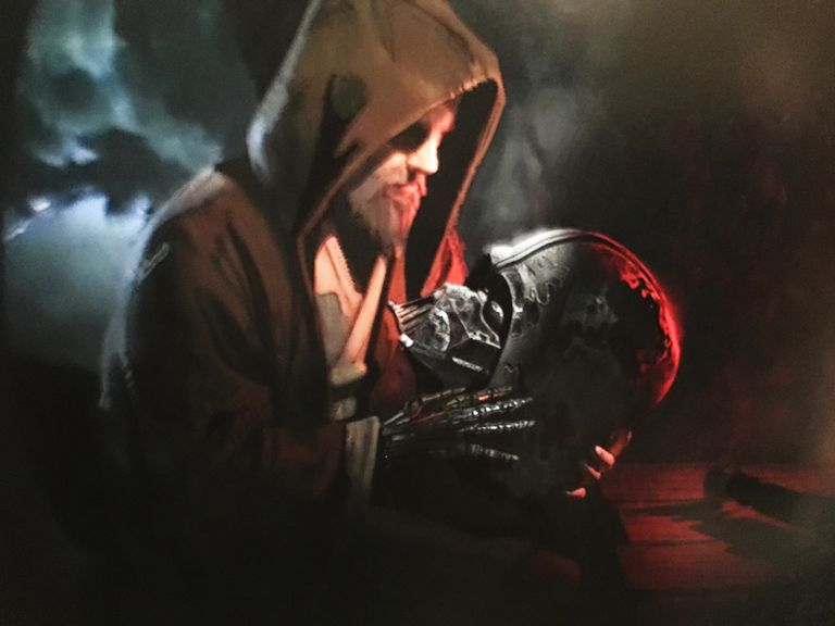 Concept art of Luke Skywalker