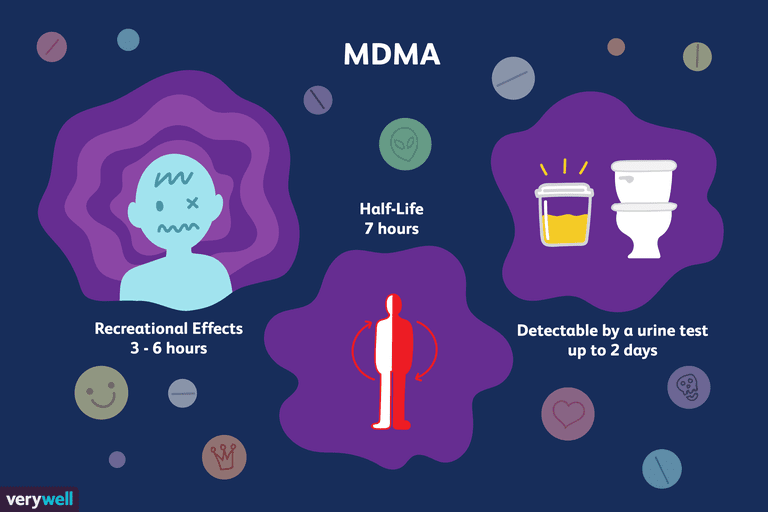 how long does ecstasy  mdma  stay in your system