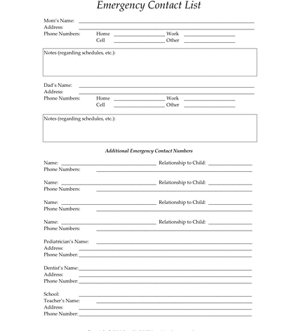 child support agreement between parents form