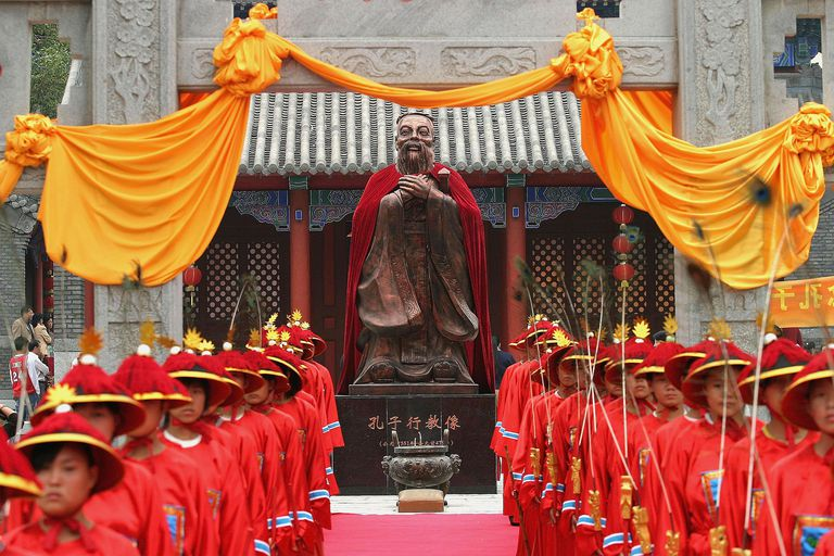 China Marks The 2,556th Anniversary Of Confucius's Birthday