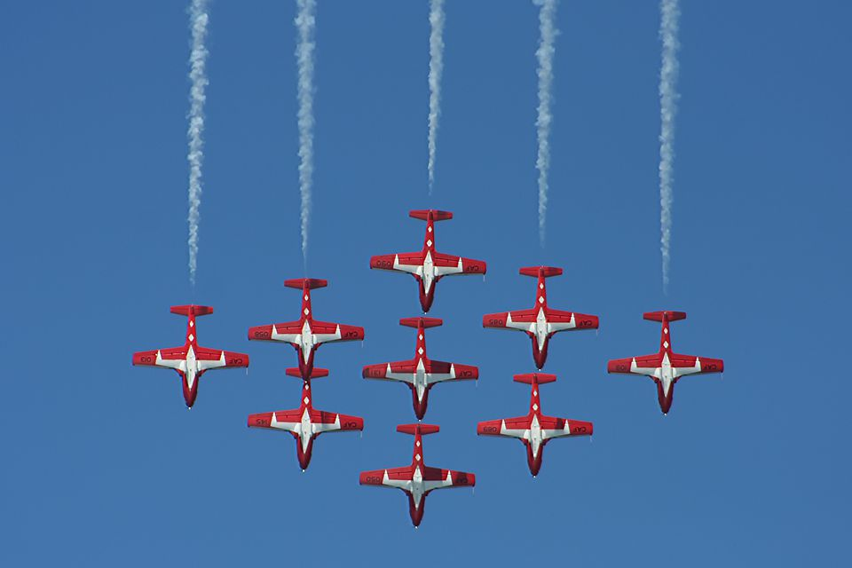 Aerial Aerobatics at San Francisco Fleet Week
