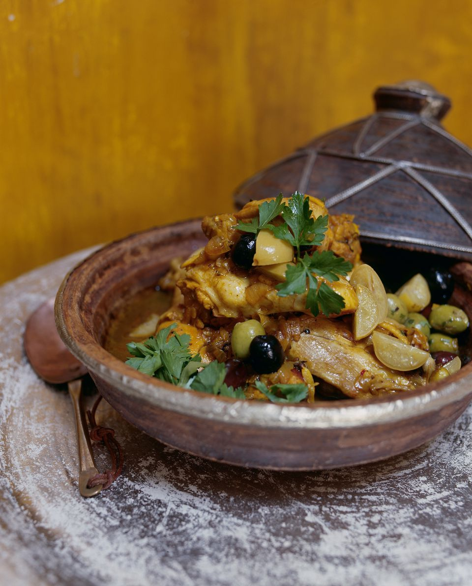 chicken in a tagine