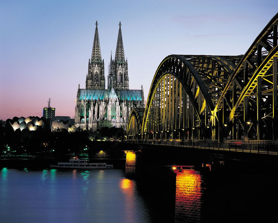 Cologne Cathedral and Skyline