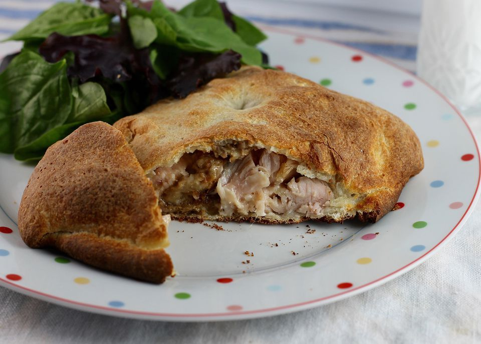 Turkey and Stuffing Calzone