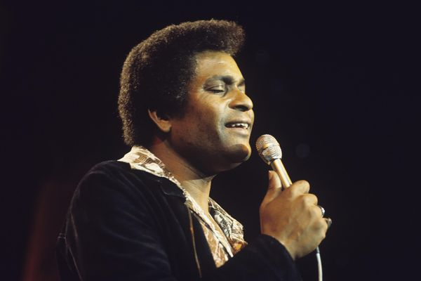 Singer Charley Pride