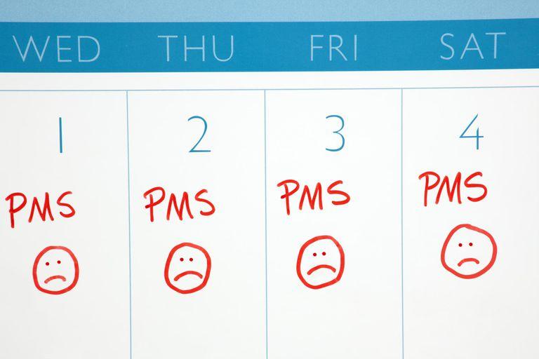 Calendar: PMS or Menstruation Cycle