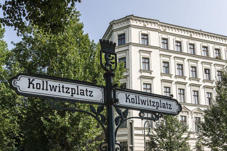 Kollwitzplatz Street Sign