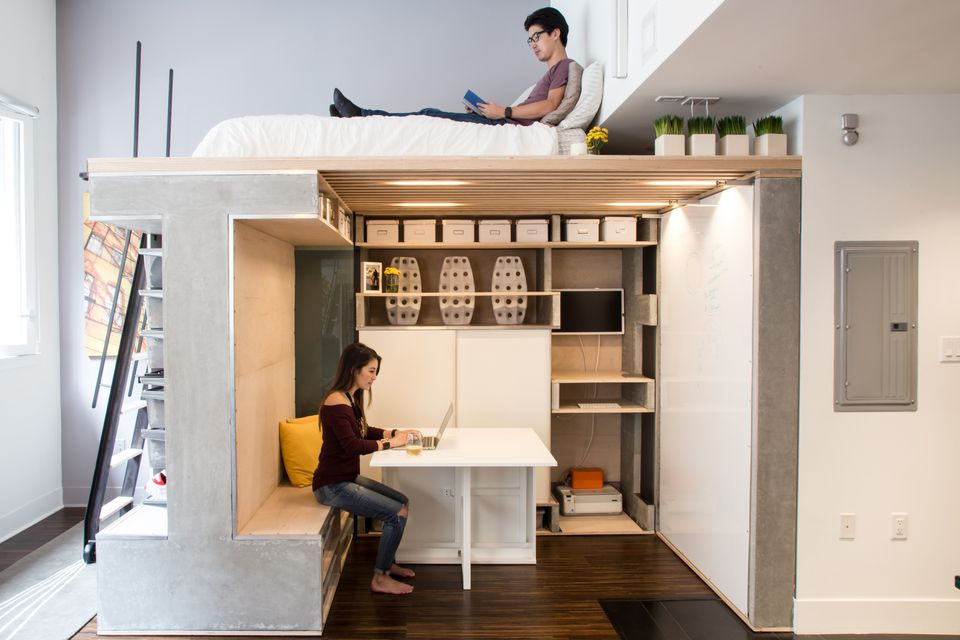 100 ingenious very small studio apartments tiny - Transforming a studio apartment three ingenious solutions ...