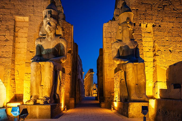 Entrance of Luxor Temple, Egypt