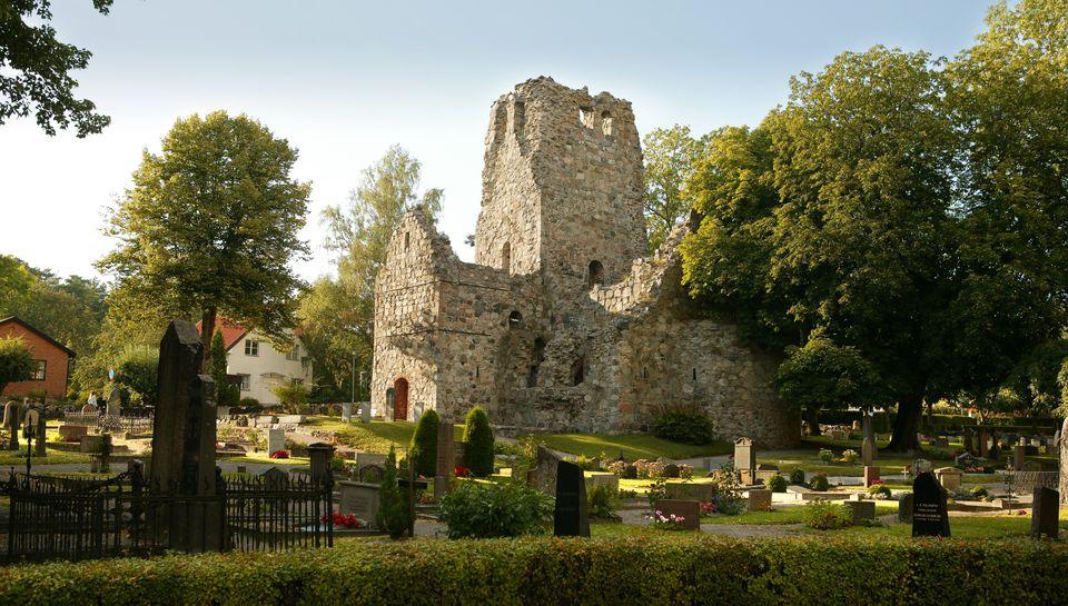 Church Ruins in Sigtuna