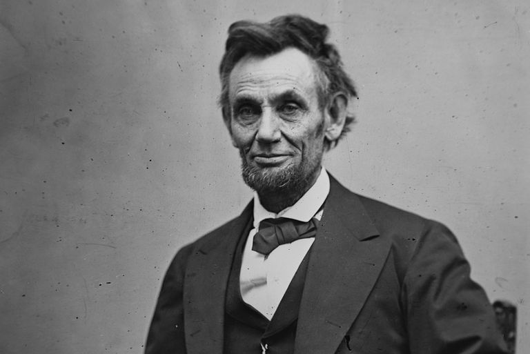 Abraham Lincoln photographed by Alexander Gardner in February 1865