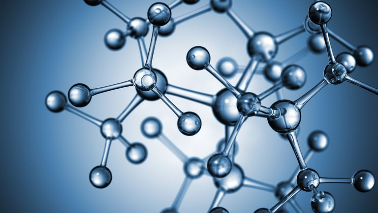Molecular weight is the total mass of a single molecule.