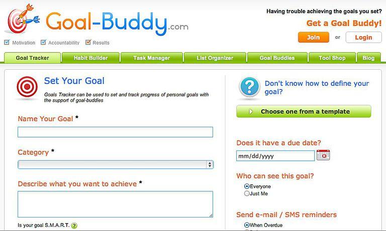 goal buddy