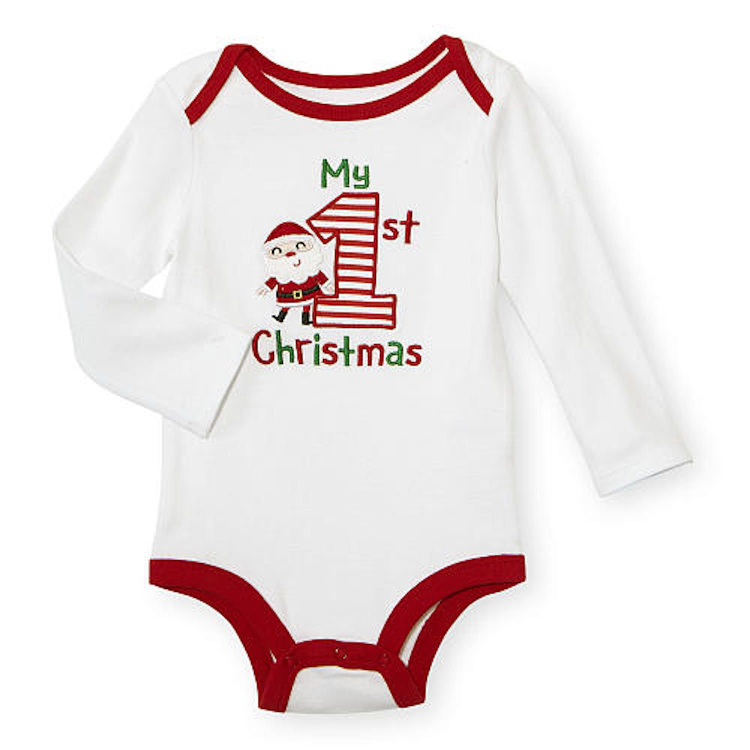 20 Adorable Baby s First Christmas Outfits