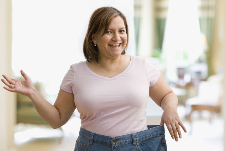 woman who lost weight