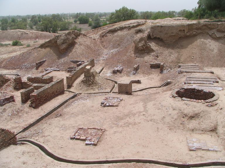 Harappa, Pakistan of the Indus Valley civilization