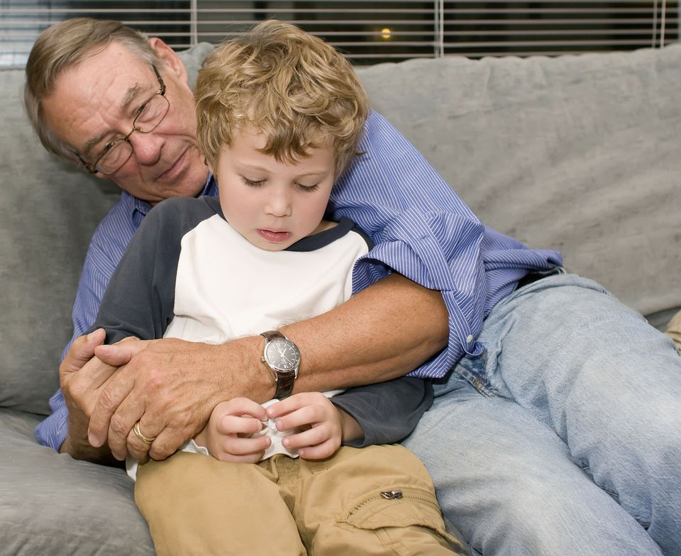 grandparents may have to work extra hard to connect with grandchildren with autism.