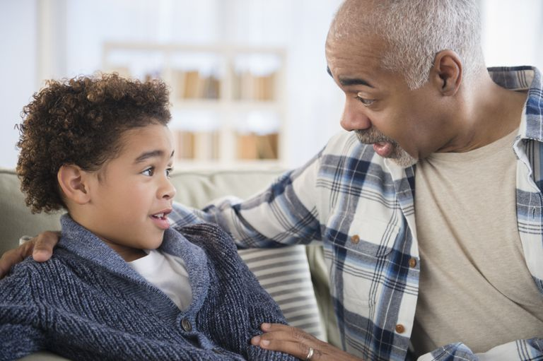 grandchildren remember the things their grandparents say