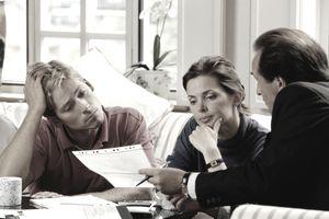 advisor with couple
