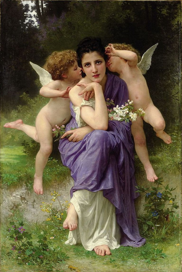 Chansons de printemps pro William-Adolphe Bouguereau
