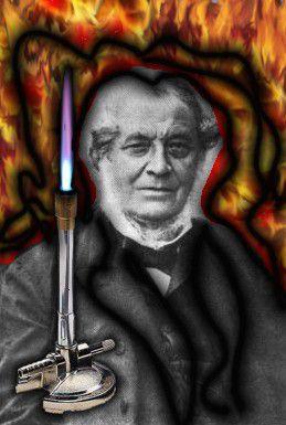 German Chemist Robert Bunsen Invented the Bunsen Burner