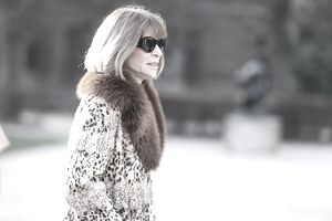 Anna Wintour, Editor in Chief of Vogue magazine