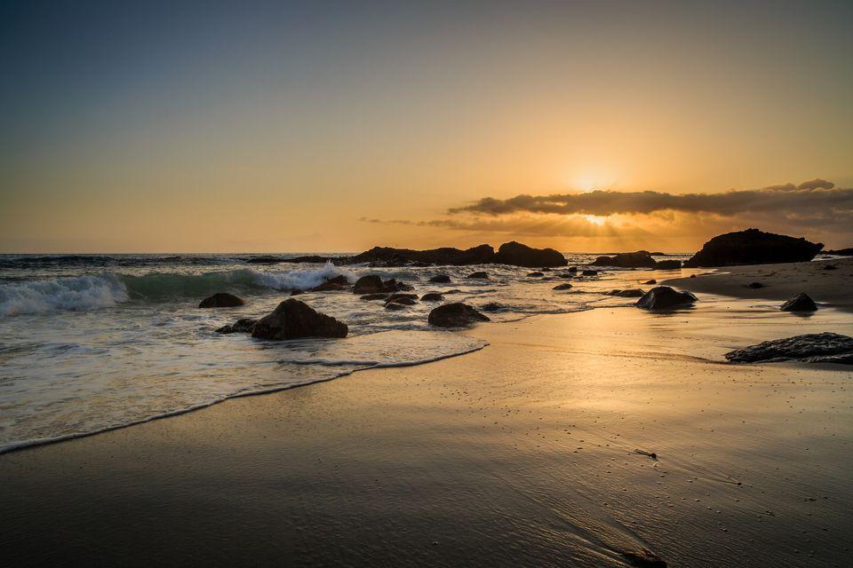 1000 Steps Beach in Laguna Beach
