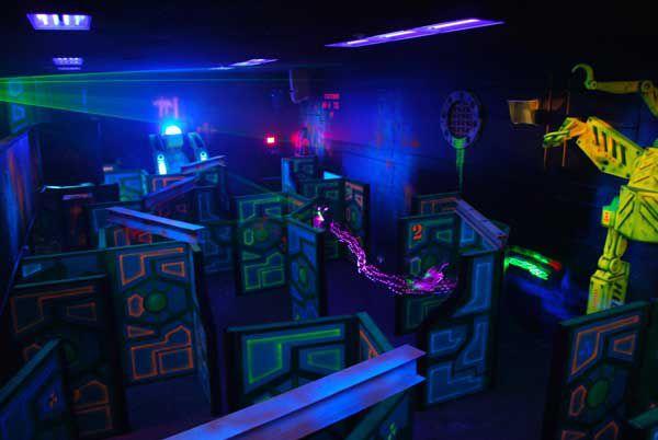 Wazee's World Laser Tag