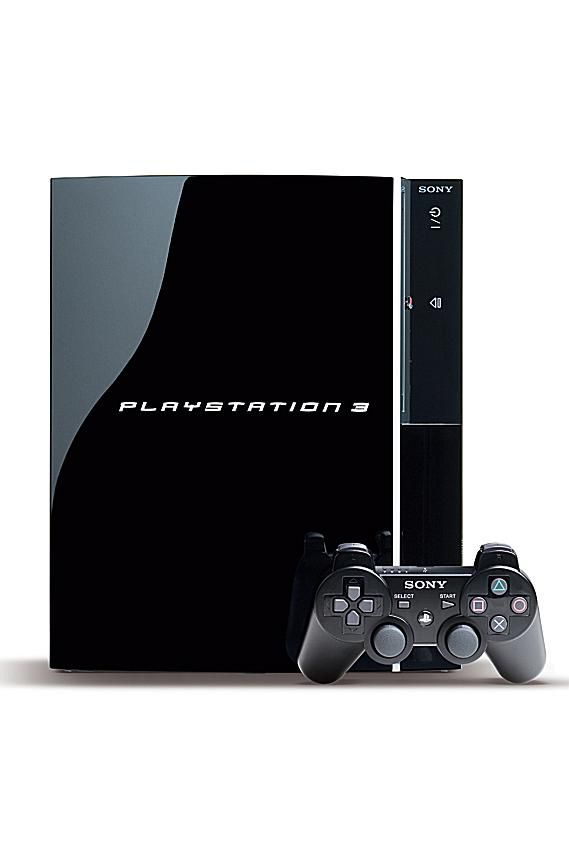 PS3 Console with Sixaxis