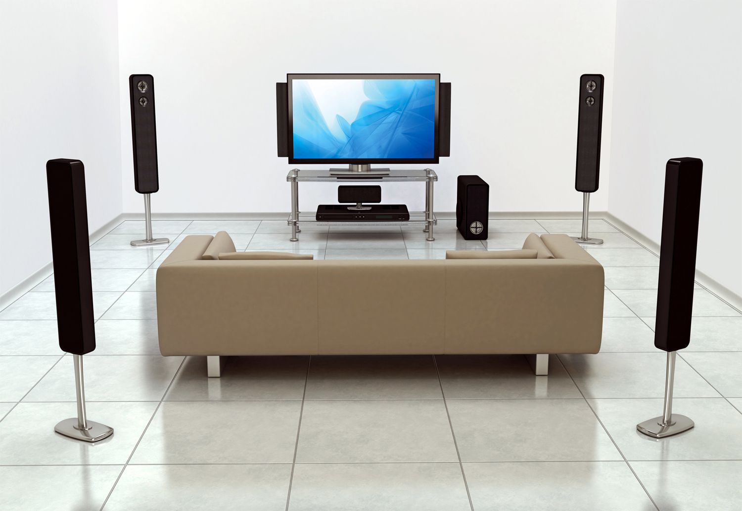 How to set up a basic home theater system - Home theater sound system design ...