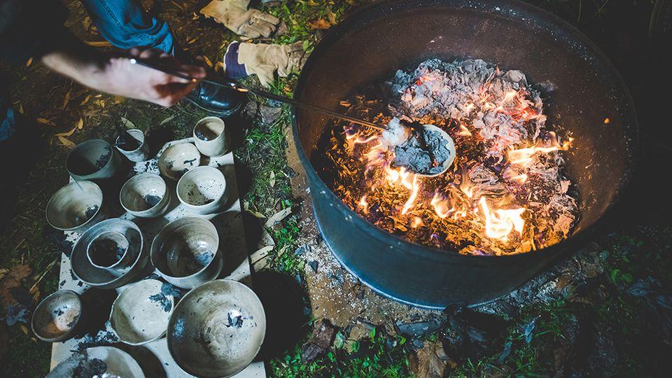 Here's how to use Raku firing to create one-off wonderful pieces.