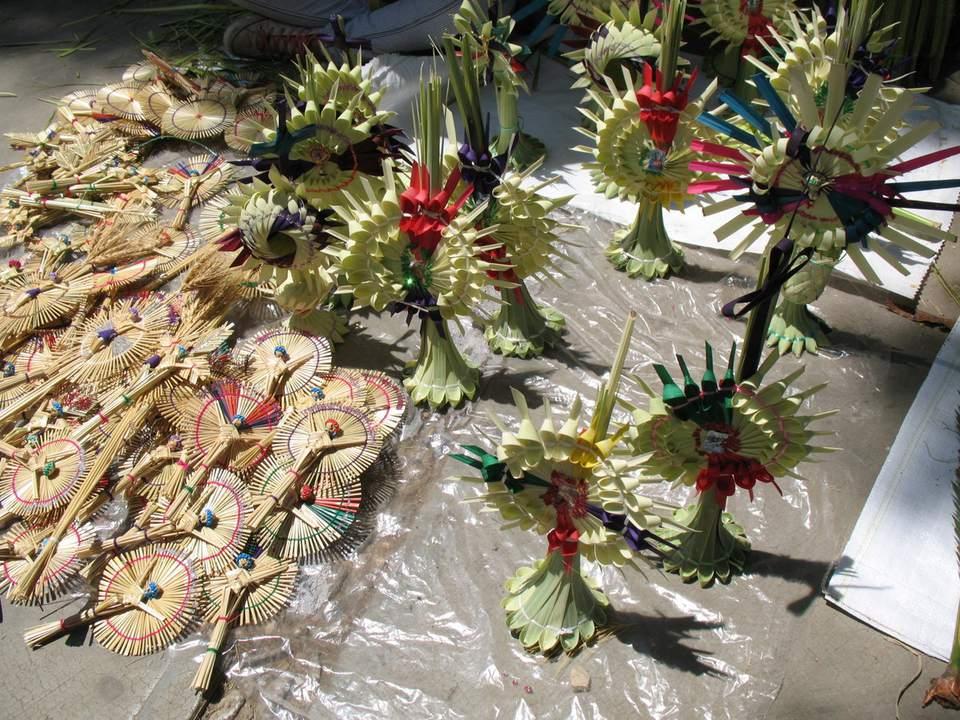 Palm Weavings