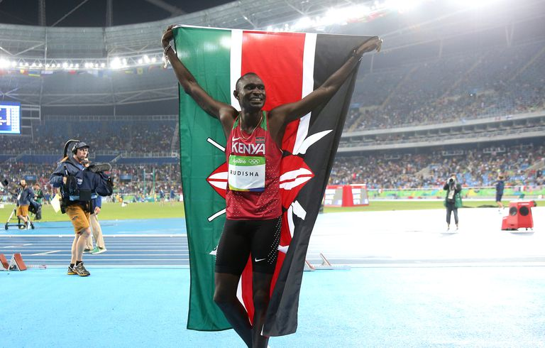 Olympics: Day 10, Men's 800m sprint winner David Rudisha