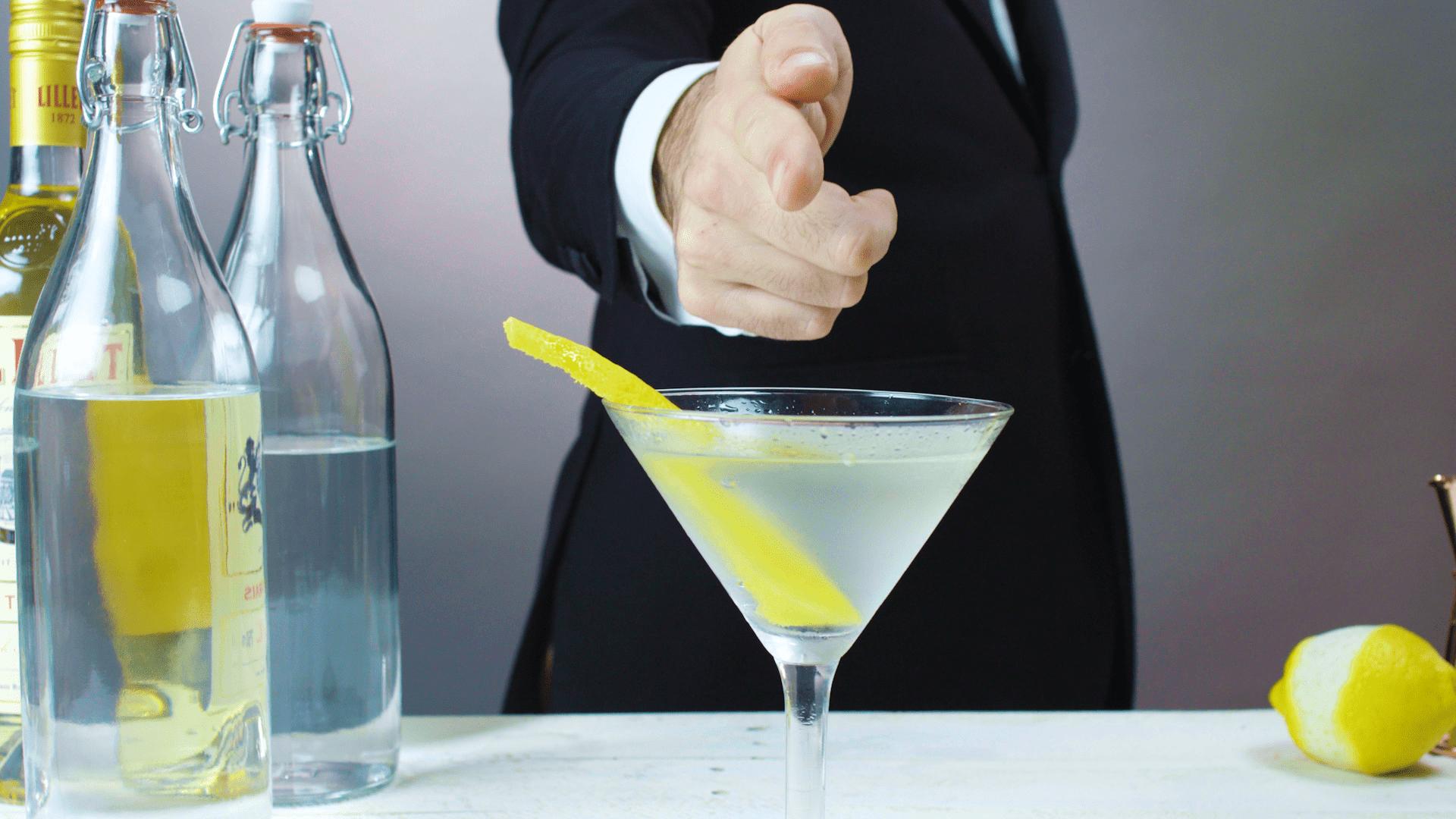 James Bond S Vesper Martini Cocktail Recipe