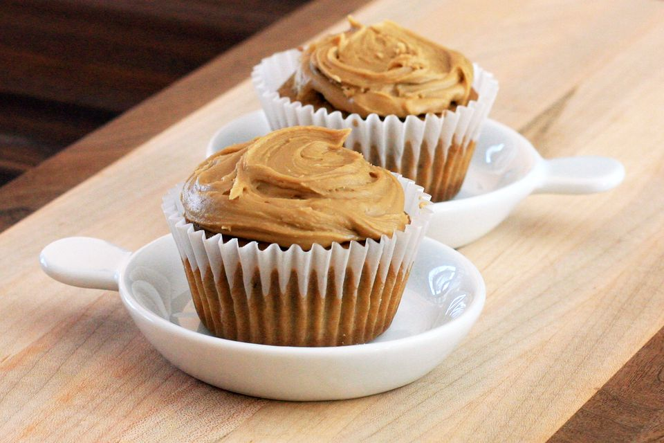 Cupcakes With Penuche Frosting