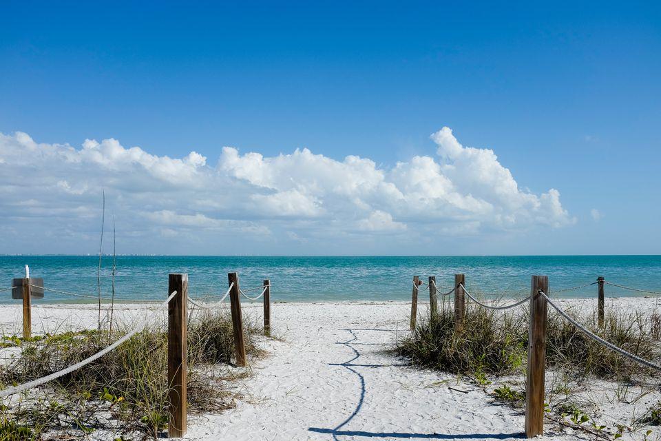 Beach on Sanibel Island Florida