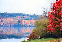 Lake Arthur and Moraine State Park in Western Pennsylvania