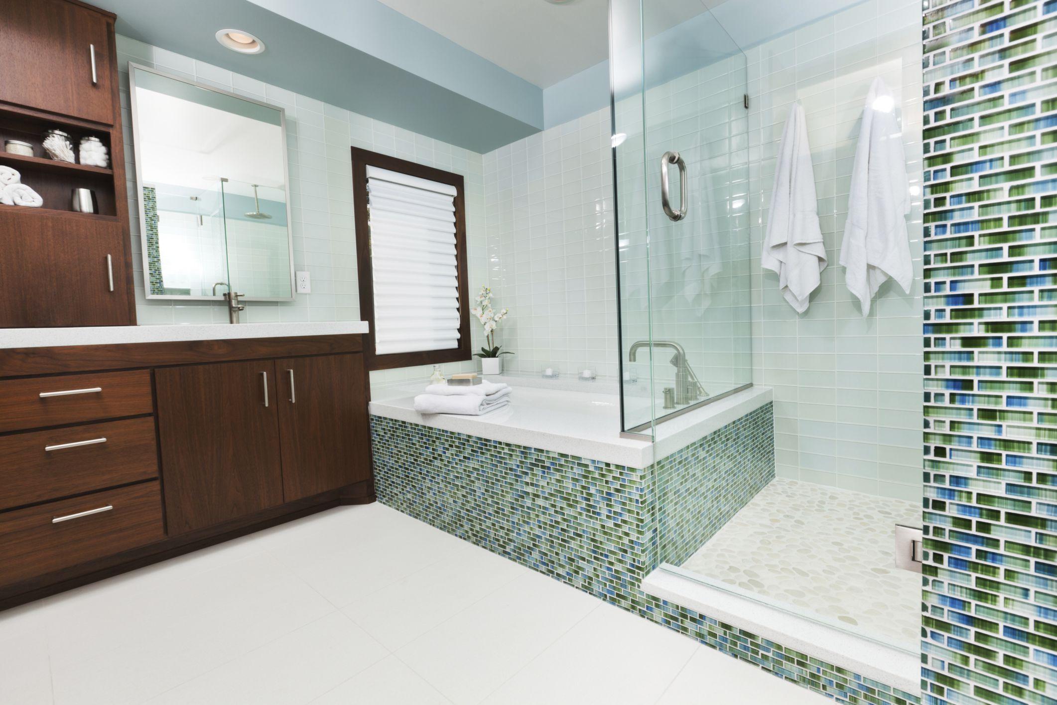 Green tiles for bathroom - Green Tiles For Bathroom 54