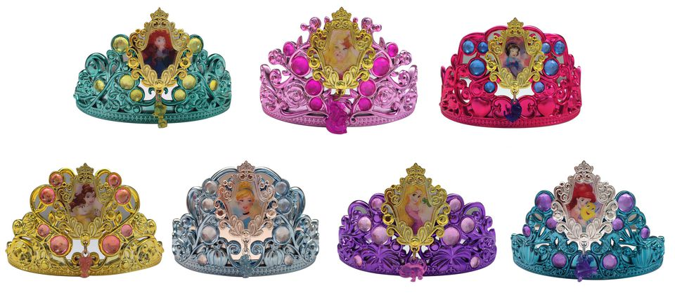 Disney Princess Adventures Tiara Assortment