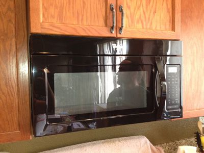 Installing an Over-the-Range Microwave
