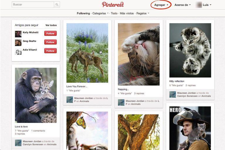 Como usar Pinterest